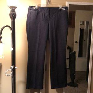 New York & Co denim stretch trousers